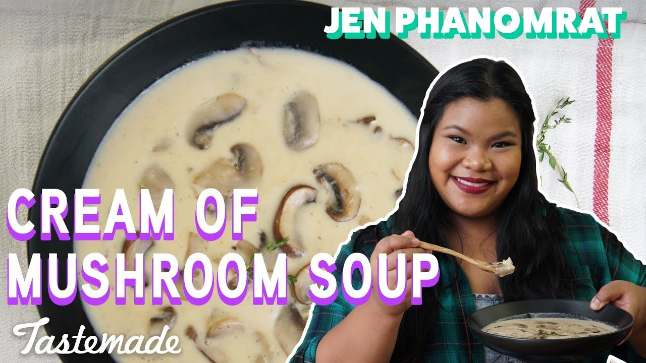 Cream Of Mushroom Soup I Good Times With Jen Youtube