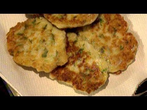 Cauliflower & Zucchini Fritters Recipe