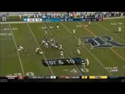 Jordan Taylor - Rice Football - WR - 2012 UCLA Game
