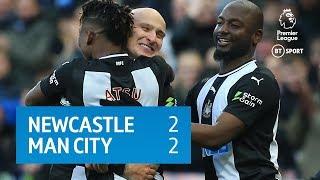 Newcastle vs Man City (2-2) | Premier League Highlights