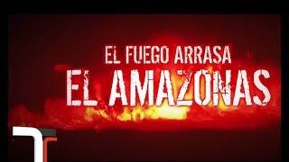 Alerta en el Amazonas: hay 10.000 focos de incendio