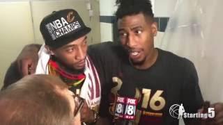 Cleveland Cavaliers Championship Locker Room Interviews