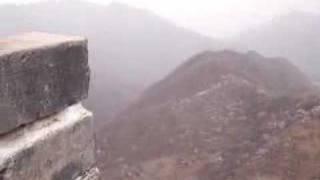 Chorale paroissiale américaine sur la Grande Muraille
