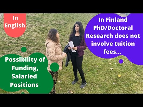 PhD student/Doctoral Researcher in Finland-Life story!!@Kabira Khanna Lets Take a Tour