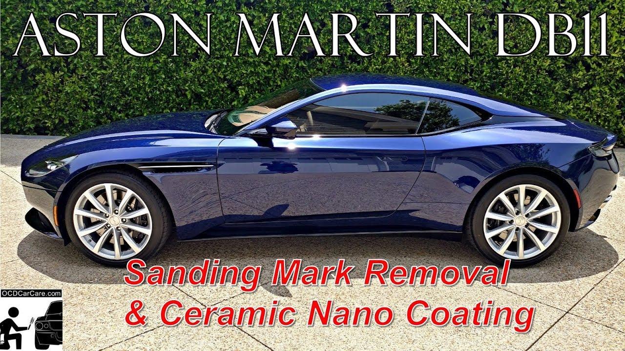 OCDCarCare Los Angeles Aston Martin DB Ceramic Nano Coating - Aston martin los angeles