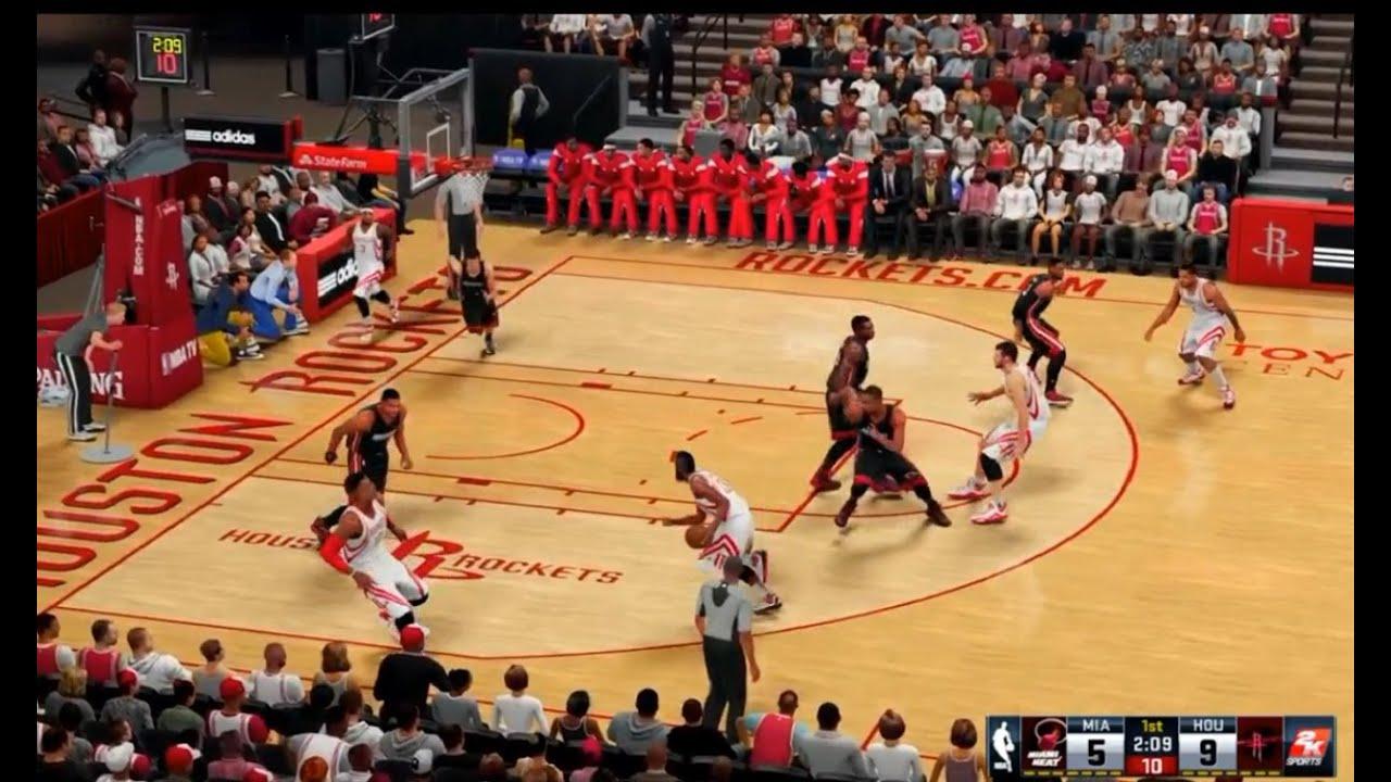 PS4 NBA 2K16 SPORTS BASKETBALL GAMEPLAY ACTION PART 1 ...