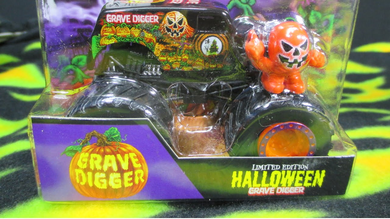 monster jam grave digger halloween 2014