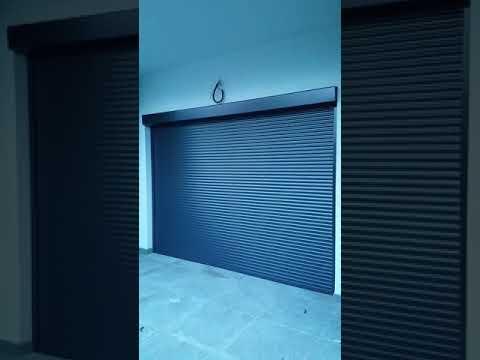AC PLASTLINE SRL Timișoara - Rulou exterior Aluminiu GRI ANTRACIT acționare cu telecomandă