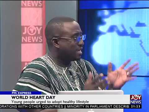 World Heart Day - PM Express on JoyNews (29-9-17)
