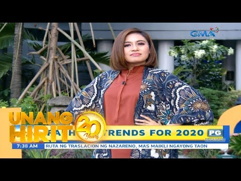Unang Hirit: Fashion Trends for 2020!. http://bit.ly/2GPkyb3