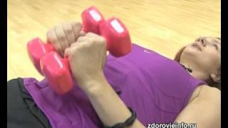 Упражнения для груди(Чтобы ваша грудь всегда была красива и подтянута, сайт http://www.zdorovieinfo.ru/ фитнес-инструктор сети клубов «Плане..., 2011-08-15T10:24:33.000Z)
