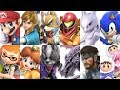 Super Smash Bros Ultimate - All 68 Characters Gameplay Showcase