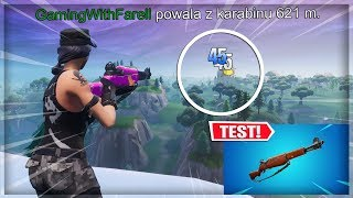 😲 REKORDOWY FRAG Z NOWEGO KARABINU PIECHOTY! - Fortnite Battle Royale
