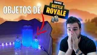 FORTNITE Objects in REAL LIFE - FORTNITE BATTLE ROYALE Matrixeo