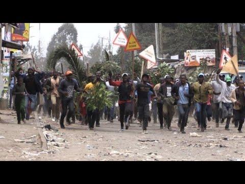 Tensions soar in Nairobi