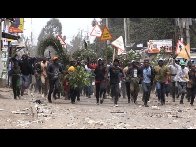 Tensions soar in Nairobi's Mathare slum after disputed election