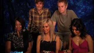 Part 1 - High School Musical 2 Cast Interview at Extra