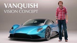 Vanquish Vision Concept: Aston Martin's Ferrari & McLaren Rival | Carfection 4K