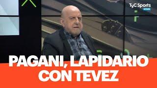 Pagani, lapidario con Tevez y las chances de Boca ante River