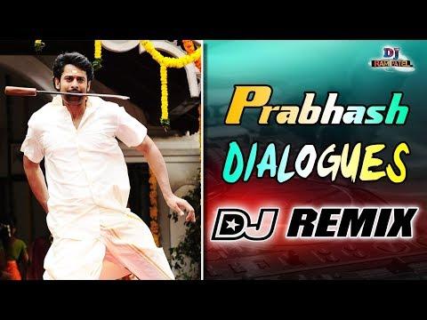 Prabhas Punch Dialogues DJ Remix   Full Teenmar Bass DJ Remix  DJ Rami Patel  