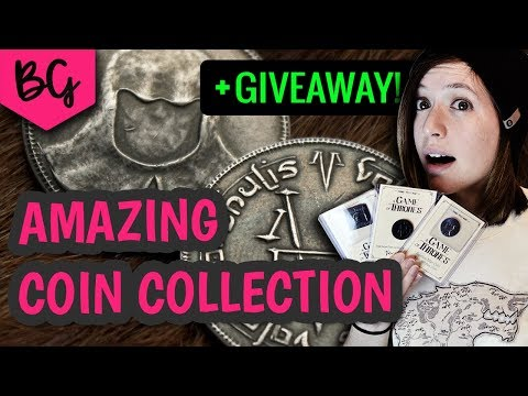 Amazing Game of Thrones Coin Collection + GIVEAWAY!!! Shire Post Mint