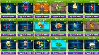 Level Up Upgrade - Plants vs Zombies 2 Gameplay Walkthrough PVZ 2 Mod