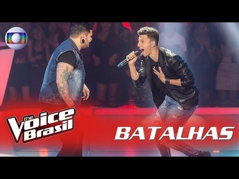 Rafah e Renan Zonta cantam 'Sweet Child O'Mine' nas Batalhas - 'The Voice Brasil' | 5ª Temporada