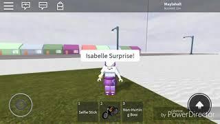 ROBLOX Edit Pour Isabelle Peep 928