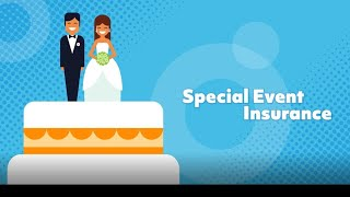 Wedding insurance usually comes in two types of coverage: event cancellation coverage and liability protection. learn more: http://a.ll.st/qwsakl conne...