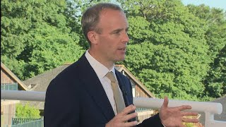 video: Coronavirus latest news: We don't want to 'yo-yo' in and out of measures, says Raab