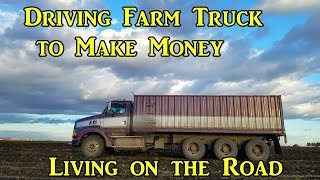 #VanLife Driving Farm Truck to Make Money Living on the Road