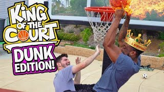 FACIALS! DUNKING ONLY CHALLENGE! KING OF THE COURT With 2HYPE!