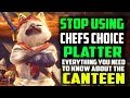 ✔️ STOP Using Chef's Choice Platter! BEST CUSTOM CANTEEN PLATTERS + FOOD SKILLS Monster Hunter World