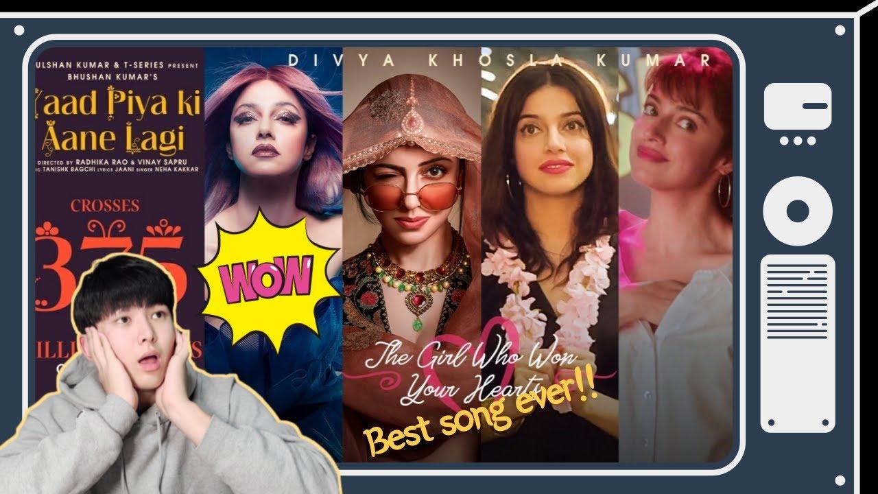 BEST INDIAN SONG!!! - Yaad Piya Ki Aane Lagi   Korean Reaction!!!