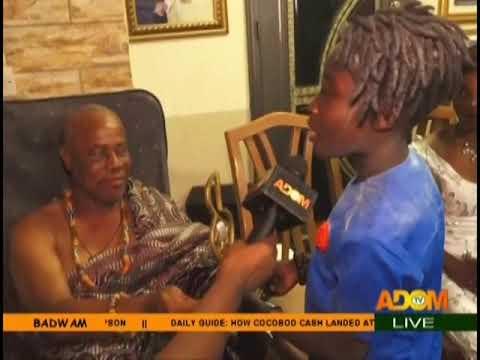 Winner of Nsoromma, Righteous Vandyke's Home Coming - Badwam on Adom TV (8-1-19)