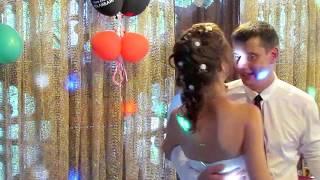 Танец мамы с сыном, папы с дочкой, снятие фаты, букет и подвязка на свадьбе 2018 Запорожье
