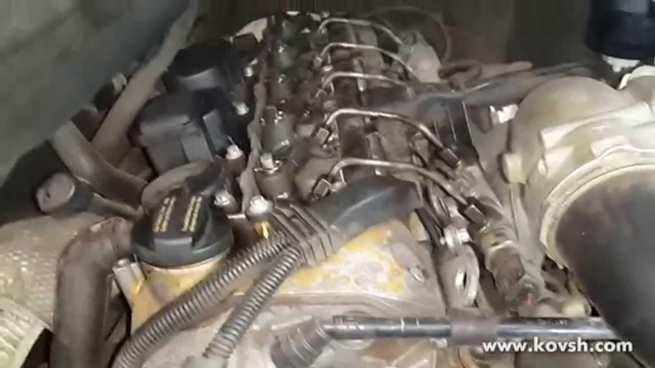 мерседес мл 2.7сди стук мотора