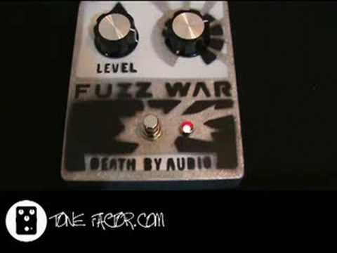 death by audio fuzz war pedal demo youtube. Black Bedroom Furniture Sets. Home Design Ideas