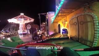 Geister Villa-Sipkema (NL) ghost train horror trip onride Soest Allerheilligenkirmes 2015 Kirmes