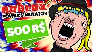 ⚡ WE BECOME THE STRONGEST NINJA FOR 500 ROBUXÓW!!! ROBLOX ⚡ Power Simulator