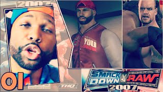 WWE Smackdown vs Raw 2007 Season Mode Part 1 - Introduction