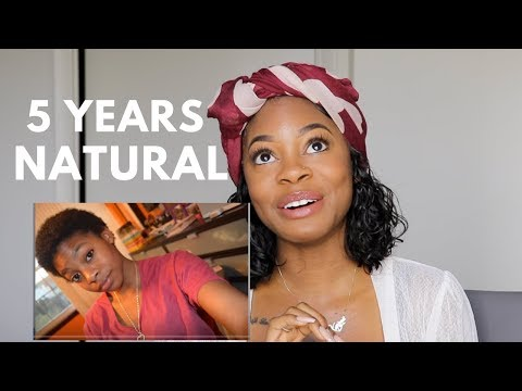 5 YEARS NATURAL HAIR ANNIVERSARY!!! (Q+A & Embarrassing Pictures)