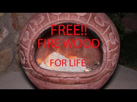 FREE! Firewood For Life!! Paper turned back into firewood! DIY