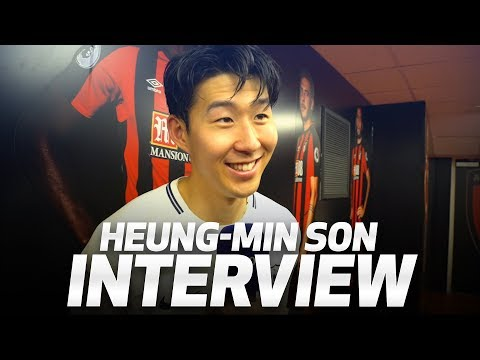 "HEUNG-MIN SON ON BOURNEMOUTH WIN | ""MY SMILE IS BACK"""