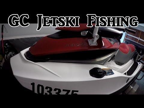 Jetski Fishing setup How to set up a Jet Ski