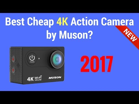 Cheap 4k Action Camera by Muson 2017