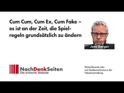 Cum Cum, Cum Ex, Cum Fake – Zeit, die Spielregeln grundsätzlich zu ändern