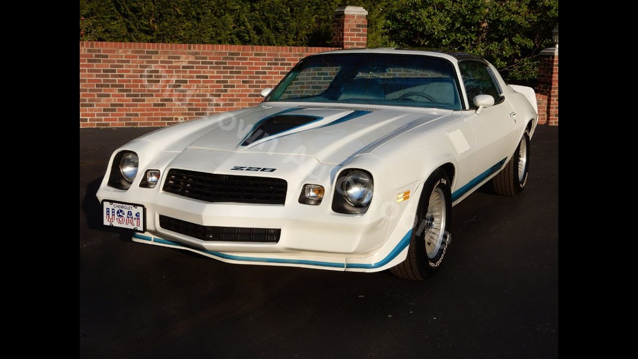 1979 Camaro Z28 ORIGINAL for sale Old Town Automobile in Maryland ...