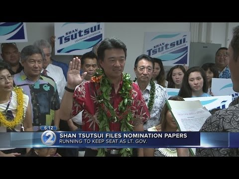 Shan Tsutsui files for Lt. Gov. race