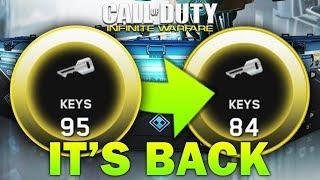 The Key Glitch - This Infinite Warfare Key Glitch Is Costing You HUNDREDS Of Keys